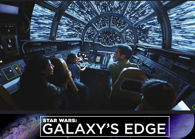 Tickets für die neue Attraktion in den Disney Parks: Star Wars Galaxy´s Edge